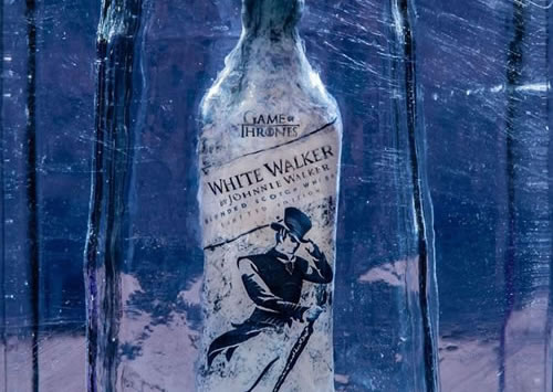 The launch of Johnnie Walker White Walker
